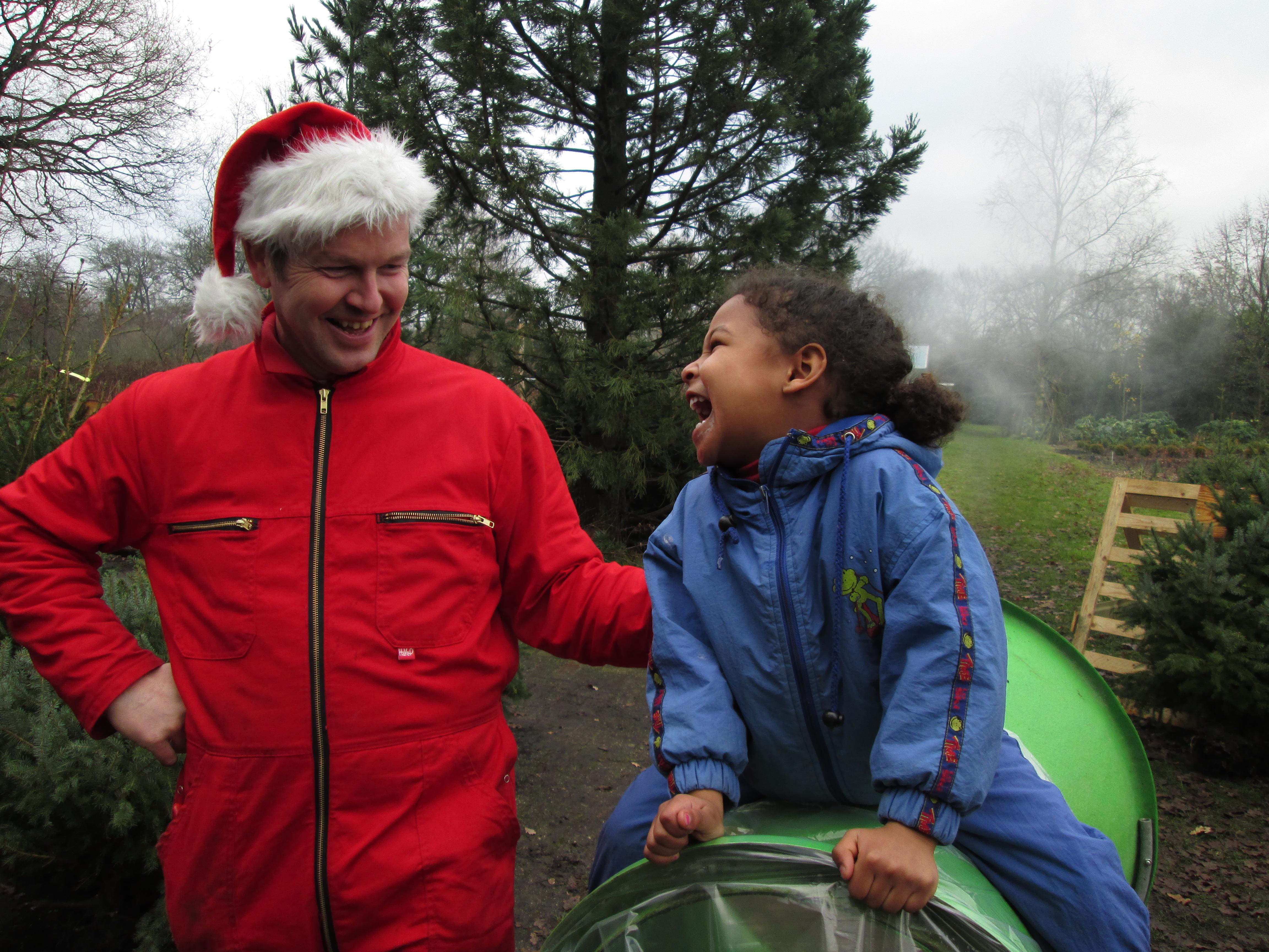 Komt u gezellig een kerstboom uitzoeken in Tiendeveen?